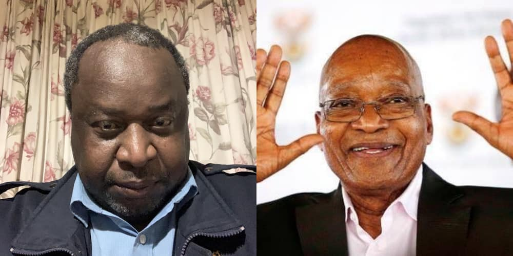 """Tito Mboweni About Jacob Zuma: """"He Must Prove His Innocence in Court"""""""