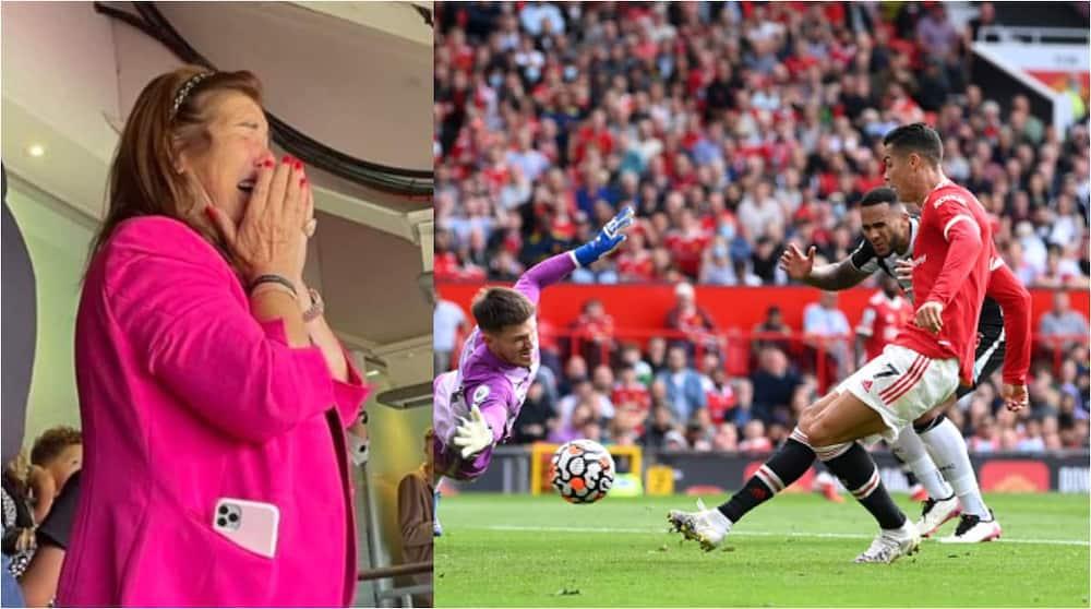 Cristiano Ronaldo, Mother, Manchester United, Newcastle United, Old Trafford