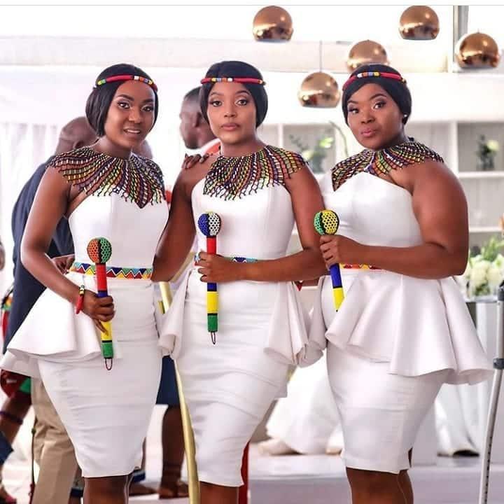 African traditional wedding ensemble 2020