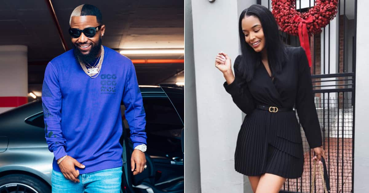 Cassper reacts to Ayanda Thabethe's request for another 'Baby Girl' - Briefly.co.za