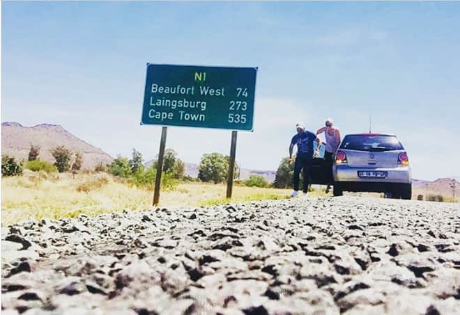 South Africa road signs