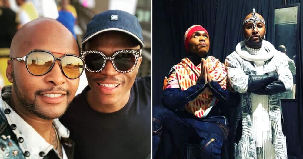 Somizi Mhlongo and Vusi Nova drop Ntandane and Mzansi's in awe
