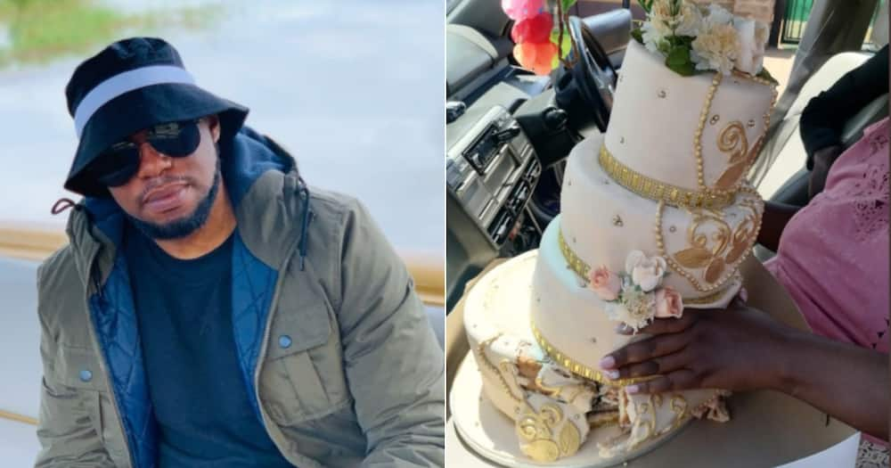 Cake, Fail, Wedding, Hilarious, Spider-man, Twitter reactions, Funny