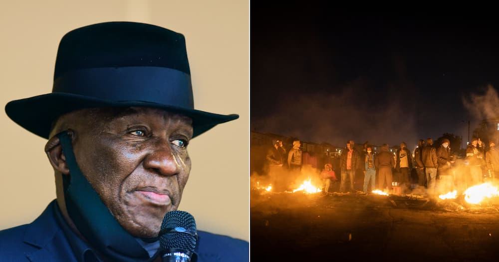 Minister of Police Bheki Cele, Phoenix, Durban, racial tensions, racism, looting, protests
