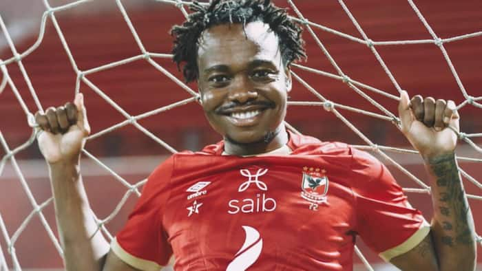 Al Ahly threatened to terminate Percy Tau's contract if he played for Bafana Bafana