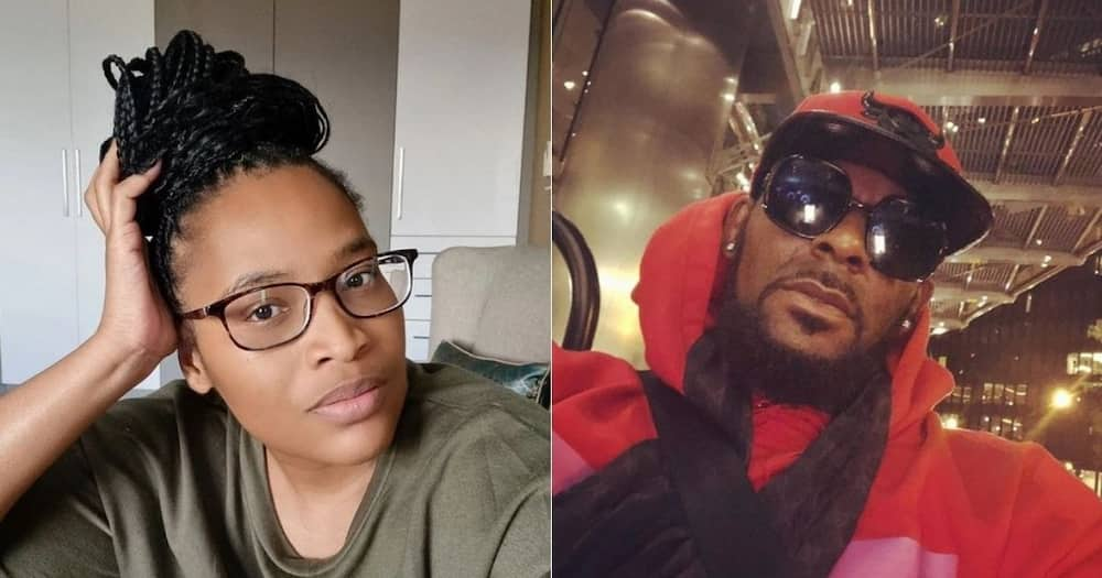 Ayanda Borotho, reacts to R Kelly, guilty verdict, slams singer's, supporters