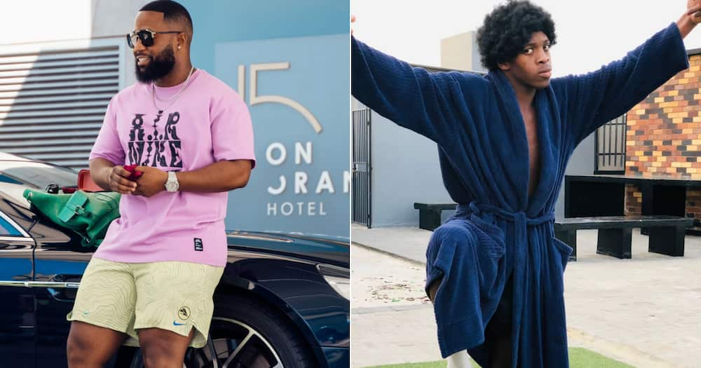 Cassper Nyovest promises to make Big Xhosa eat his words in a boxing match