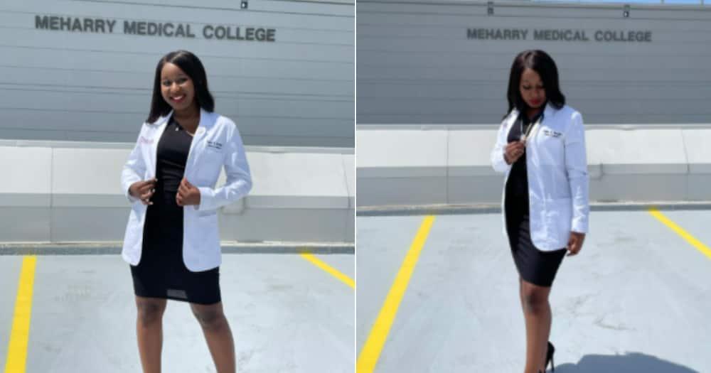Woman, Medical student, Inspirational, Black Girl Magic, Social media reactions