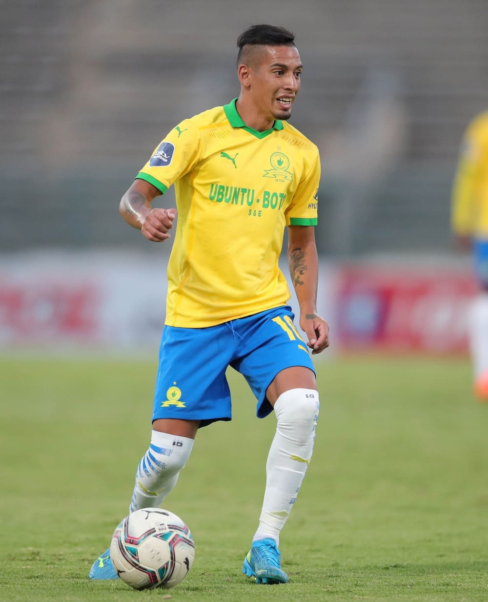 Highest paid soccer player in South Africa