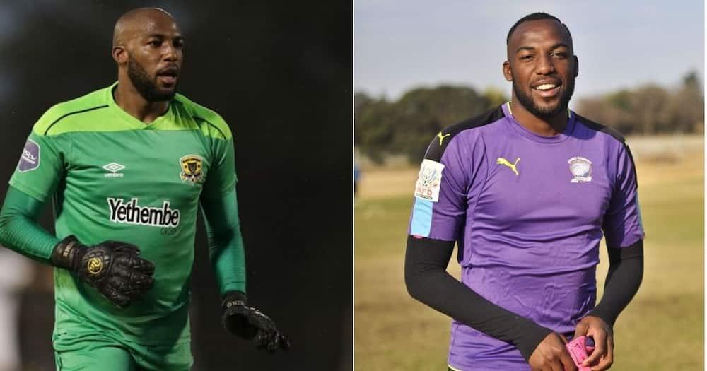 Former Black Leopards goalkeeper King Ndlovu has reportedly signed for Orlando Pirates. Image: Twitter