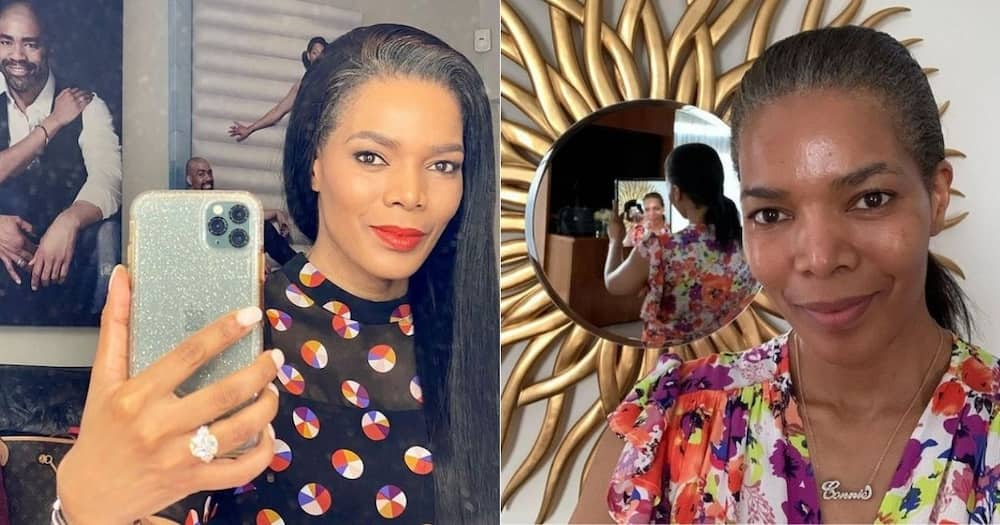 """Connie Ferguson, returns to work, cast and crew excited, """"The Sho must go on"""""""