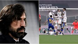 Arsenal fans excited after former Juventus manager Andrea Pirlo is spotted in London