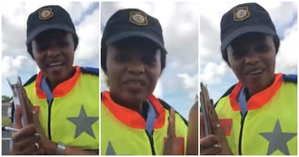 Throwback: Cop stops driver, but sings him happy birthday on video
