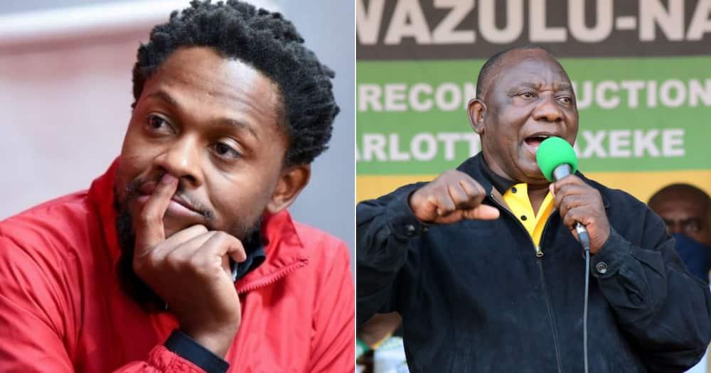 EFF's Ndlozi Calls Ramaphosa the Worst SA President Ever