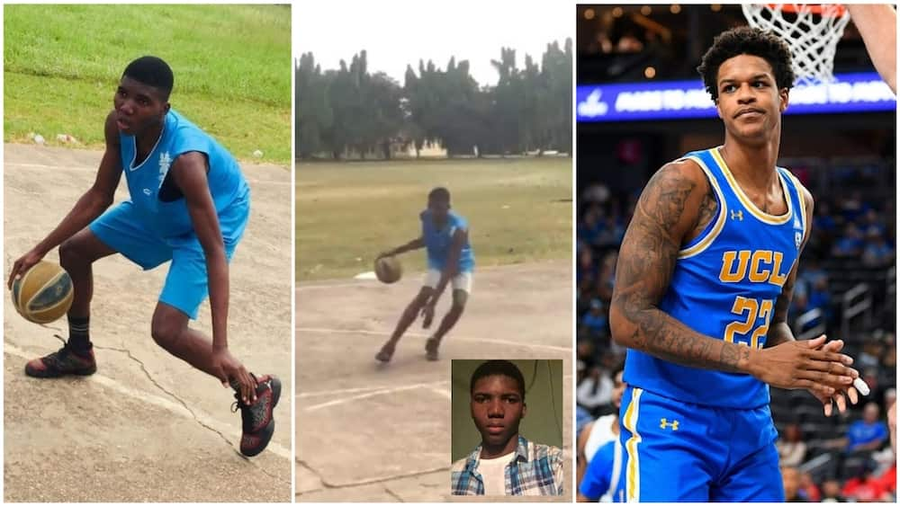 Nigerian boy who begged to play for American school gets special attention from star player
