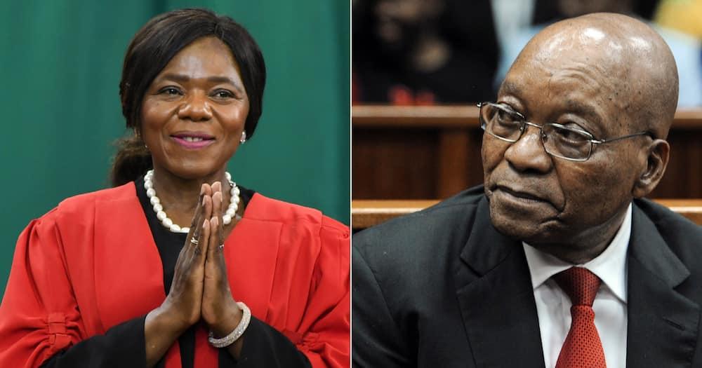 Thuli Madonsela, Jacob Zuma, prison, State Capture, Constitutional Court, Zondo Commission