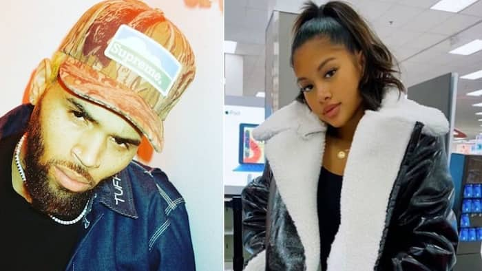 Chris Brown's head over heels for his baby mama Ammika Harris' beauty