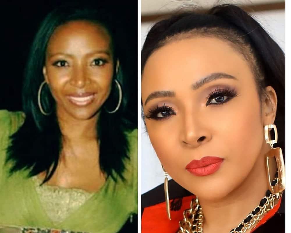 Uyanda Mbuli plastic surgery photos