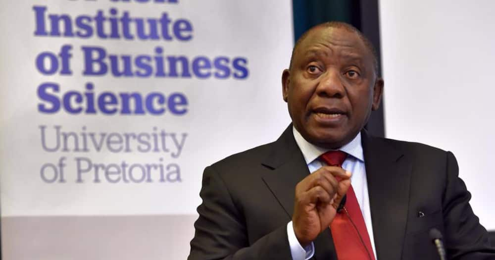 Opposition parties slammed President Cyril Ramaphosa's economic recovery plan. Photo credit: Facebook/MyANC