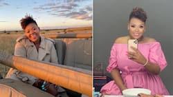 Anele Mdoda offers to buy a portrait of herself from a talented artist online