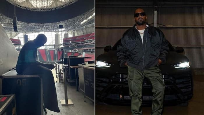 Kanye West: Peek inside his 'Donda' living quarters at Mercedes Benz Stadium