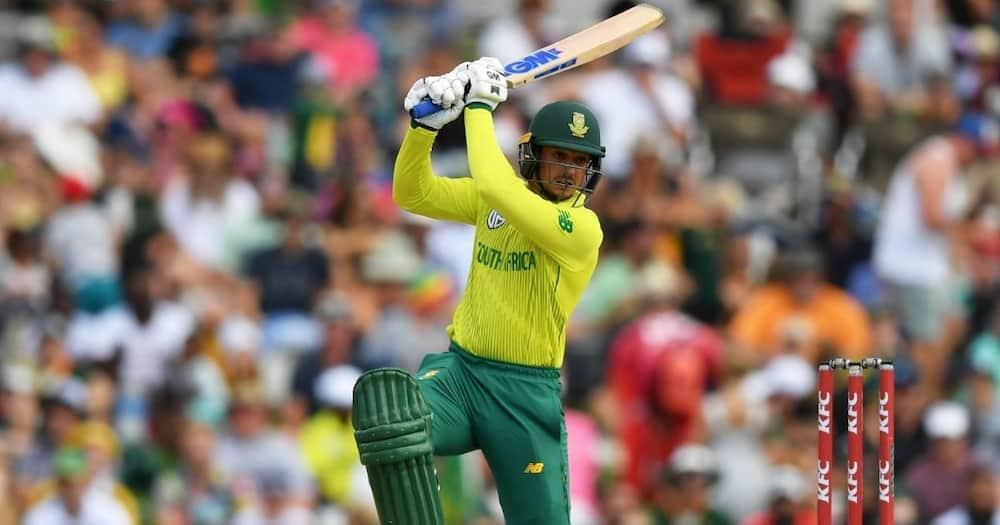Quinton de Kock named SA's Test team captain for 2020/21