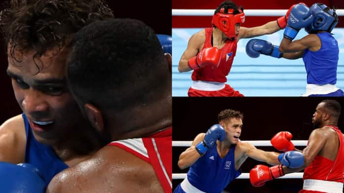 Tokyo Olympics: Moroccan boxer Youness Baalla disqualified after he attempted to bite opponent's ear