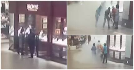 "Video shows local mall robbed in broad daylight: ""It's becoming a thing now"""