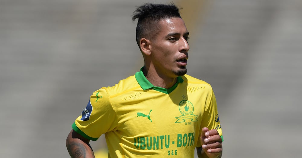 Gastón Sirino Dragged by Tweeps After His Latest Outing for Sundowns