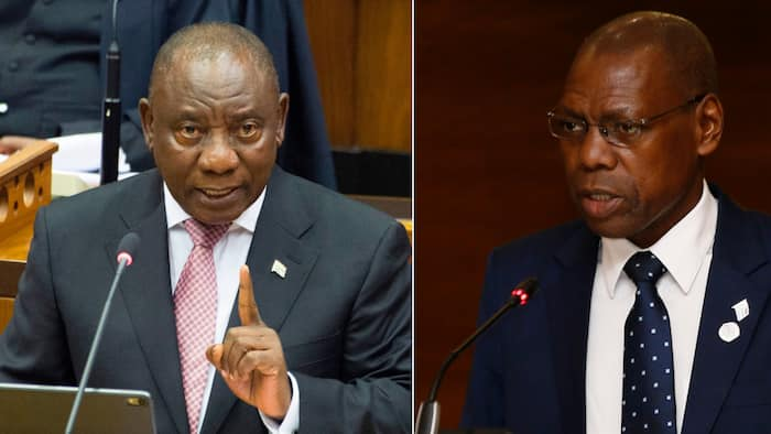 President Cyril Ramaphosa asks for patience in Health Minister Zweli Mkhize's Digital Vibes saga