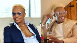 Somizi takes to social media to hint at a new project, Mzansi reacts