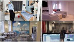 Beautiful prison that has studio, dryer, washing machine, sitting room stuns many