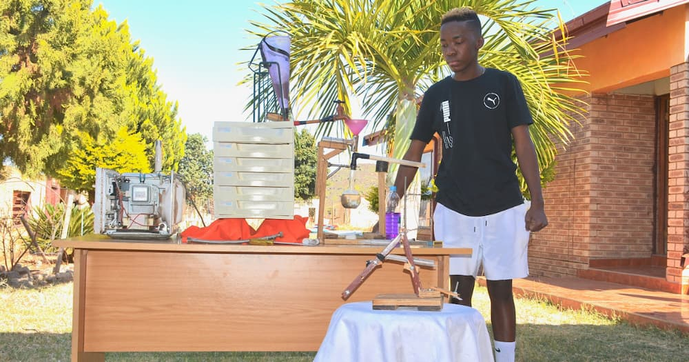 Rachuene Kgalema, the Talented 19-Year-Old, Inventor, Limpopo