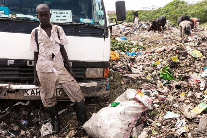 Ian Otieno: Volunteer offers full education scholarship to Dandora boy who collected plastics for sale