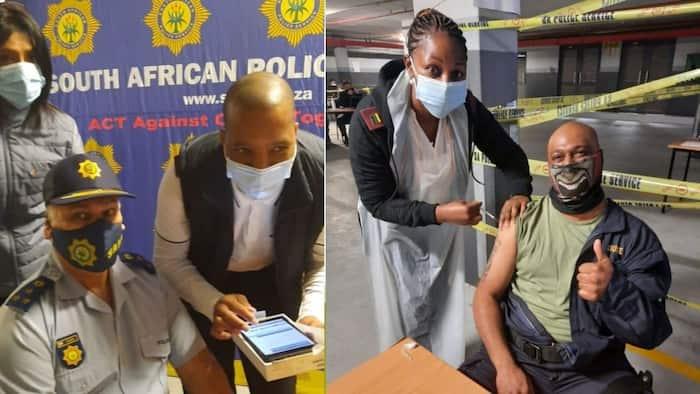 Pics: SA Police embark on vaccination drive in KwaZulu-Natal, aiming for 30 000 members