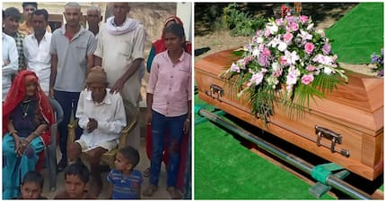 'Dead' man, 95, wakes up during funeral rites after being splashed with water
