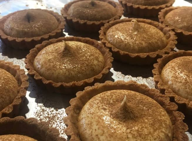 Traditional South African tartlets recipe