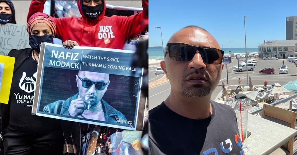 Nafiz Modack: Supporters claim he is a humanitarian, not a criminal kingpin