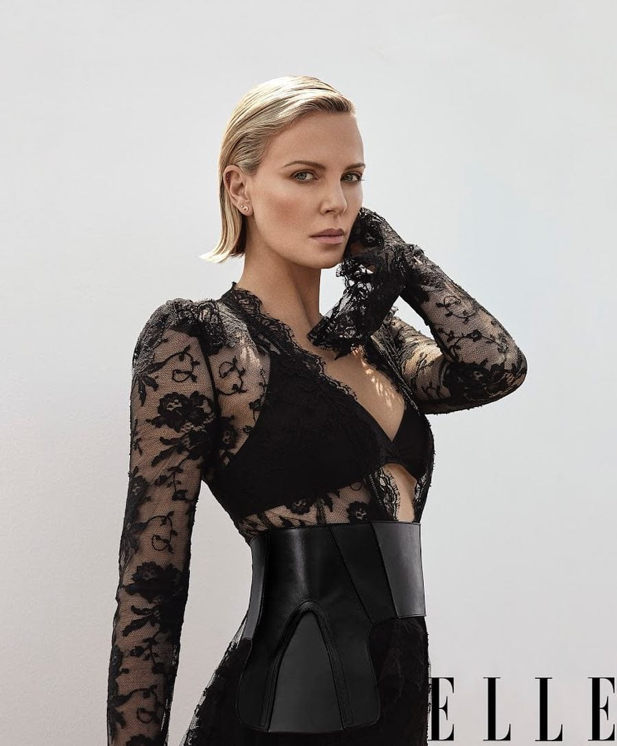 South African celebrities charlize theron