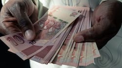 Business news: Zimbabwe's biggest Z$50 banknote is worth a mere R4