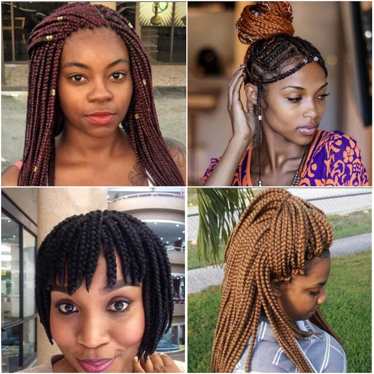 Ghanaian Bridal Styling With Straight Hair: 30+ Best African Braids Hairstyles With Pictures You