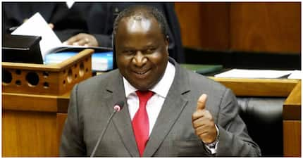 Tito Mboweni delivers legendary clapback: Open your brain before your mouth