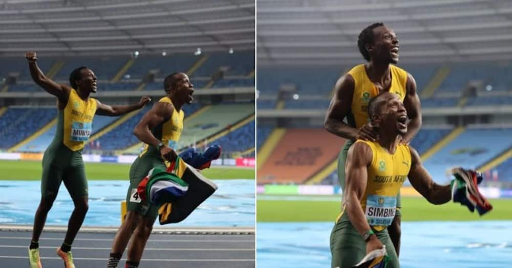 South African athletes have qualified for the 2021 Olympic Games to be held in Japan. Image: @WorldAthletics/Twitter