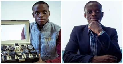 What an achievement! Man, 21, owns luxury watch business and employs 15 people