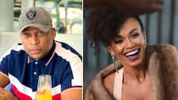 Robert Marawa tells sweet story of how his and Pearl Thusi's relationship began, a fan favourite