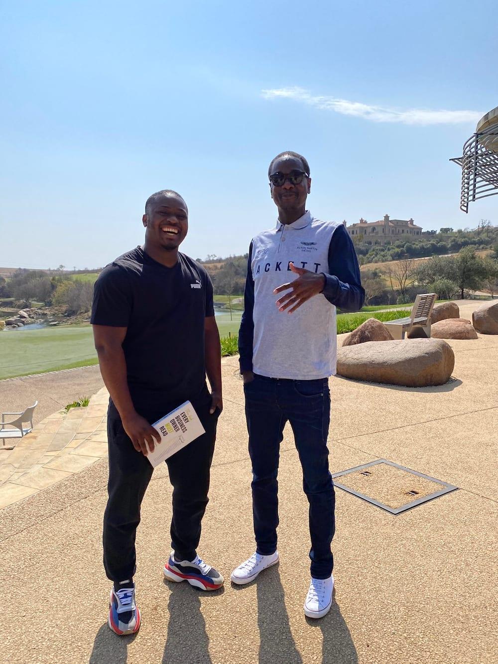 Austin Malema and dineo moeketsi