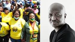 Fana Mokoena believes ANC has collapsed itself, Saffas clap back: 'Stick to acting, Mhlekazi'