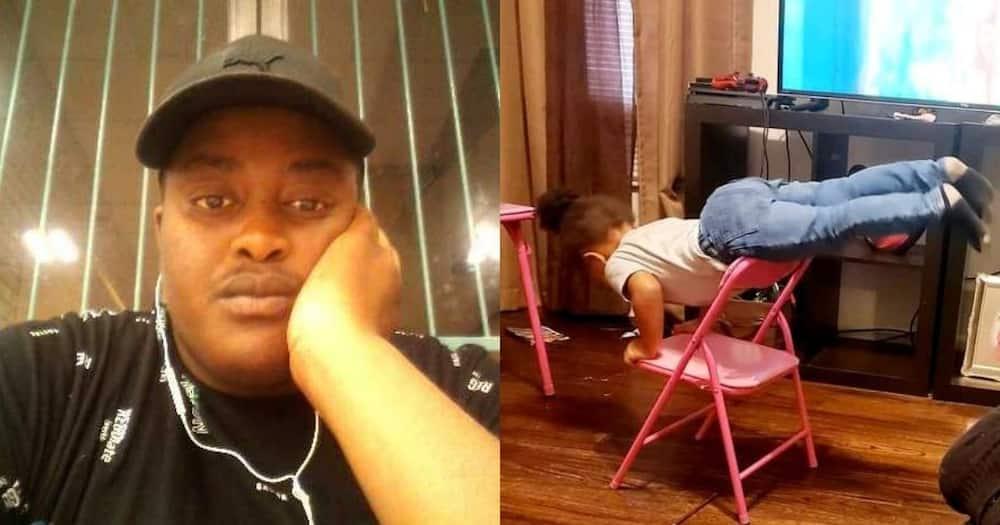 Dad shares, hilarious photo of his adorable daughter's antics