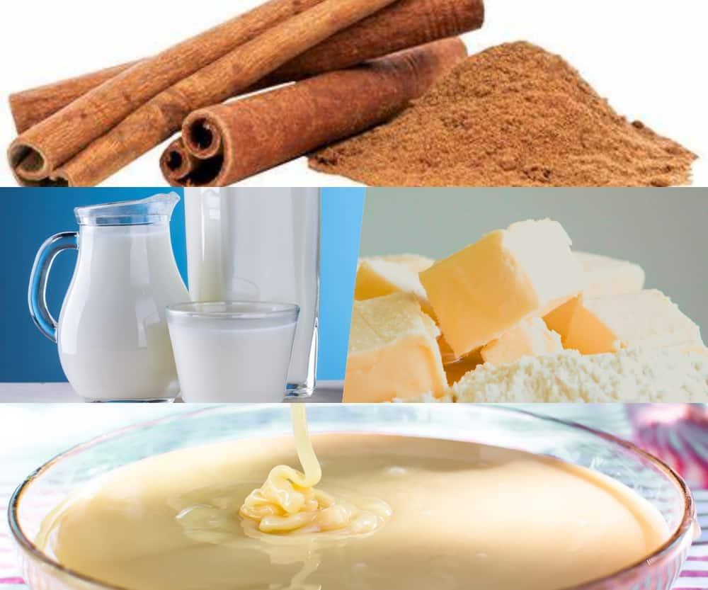 Maklike melkkos resep: met pasta of met kondensmelk in die mikrogolf of op die stoof