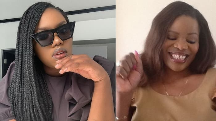 Gugu Gumede pens appreciation post to her late mother Zanele kaMagwaza Msibi